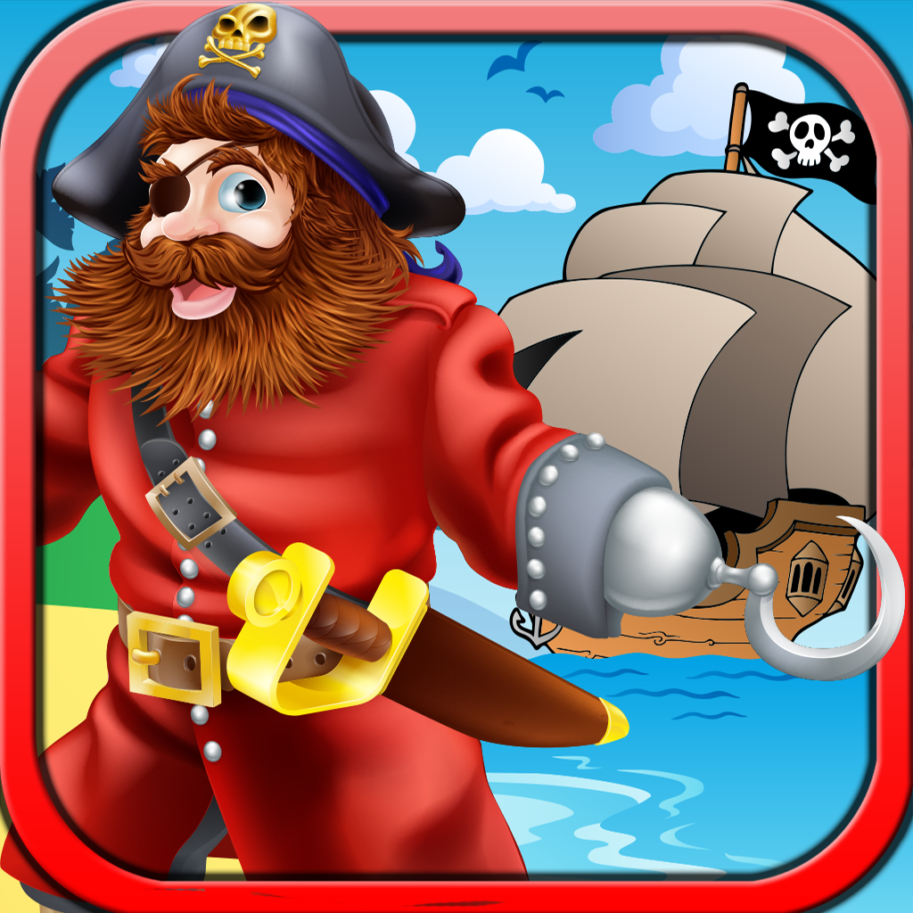 Pirate Blackbeard Free - Casino 777 Slots Simulation Game